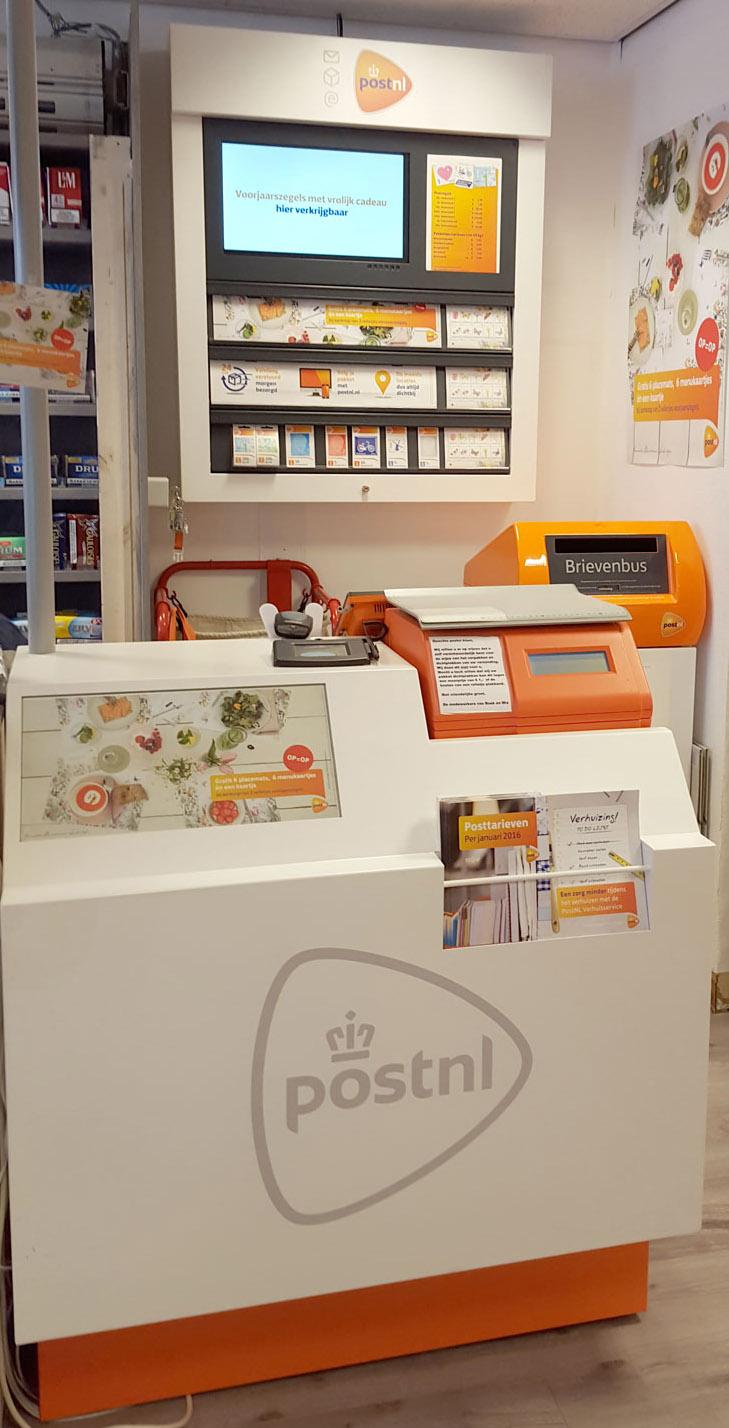 postkantoor bij boek en mix
