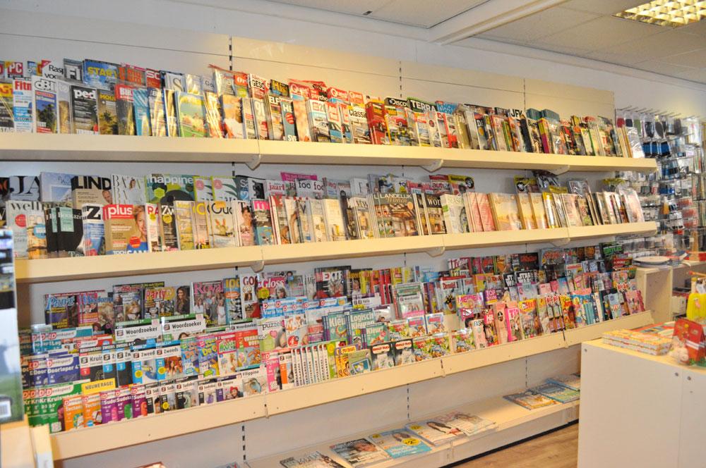 tijdschriften en kranten boek en mix